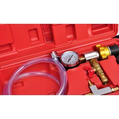 vidaXL Kylsystem vakuumspolning och påfyllning 6 delar