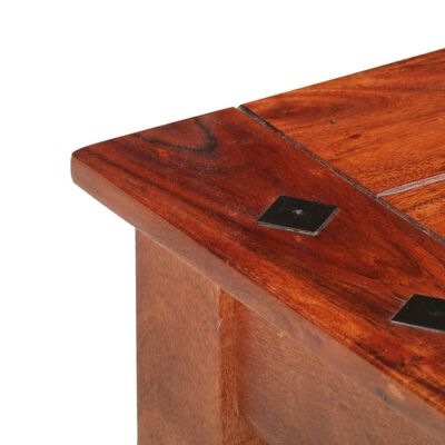 vidaXL Soffbord 110x50x35 cm massivt akaciaträ