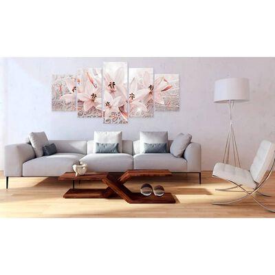Tavla - Pink Poem - 200x100 Cm