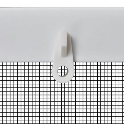 Vitt insektsnät till fönster 80 x 100 cm, Vit