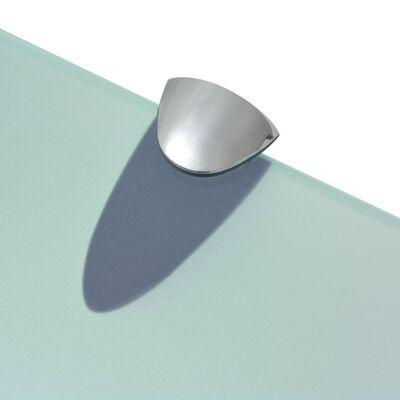 vidaXL Svävande hylla glas 70x10 cm 8 mm