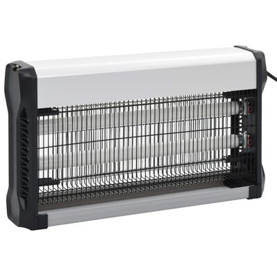 vidaXL Insektsdödare svart aluminium ABS 30 W
