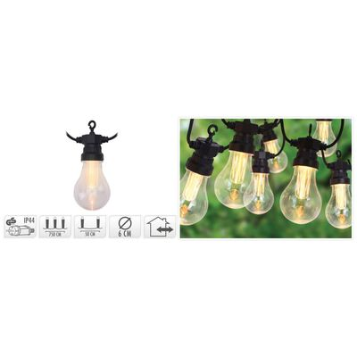 ProGarden Ljusslinga för trädgården med 20 LED 3,2 V