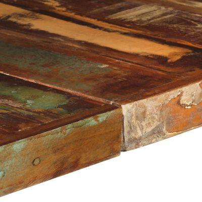 vidaXL Matbord 140x140x75 cm massivt återvunnet trä