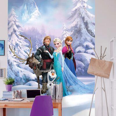 Komar Fototapet Frozen Winterland 184x254 cm blå