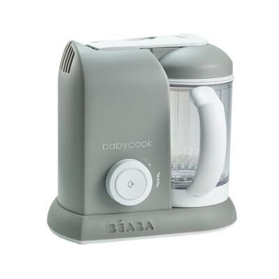 Beaba 4-i-1 Barnmatsberedare Babycook Solo 1100 ml grå