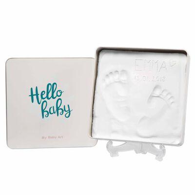 Baby Art Gipsavtryck Magic Box Essentials fyrkantig