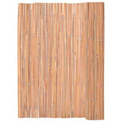 vidaXL Bambustaket 125x400 cm