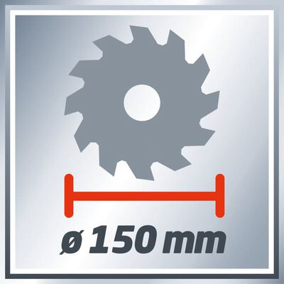 Einhell Sladdlös cirkelsåg TE-CS 18 Li-solo röd 150 mm 4331200