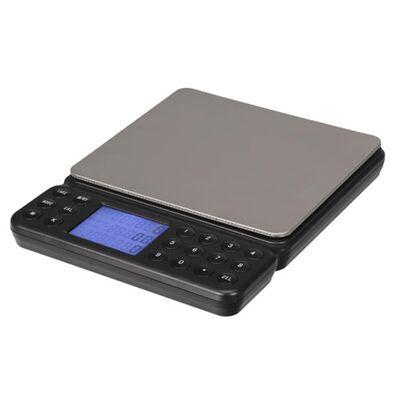 Perel Digital räknevåg 2 kg grå
