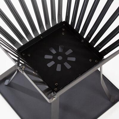 RedFire Eldkorg Denver svart stål 39x39 cm 85015