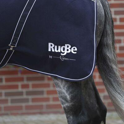 Covalliero Hästtäcke fleece RugBe Classic blå 125 cm