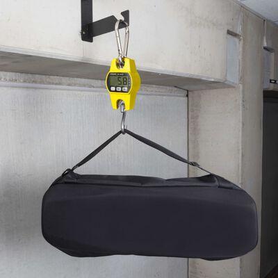 Perel Digital kranvåg 300 kg gul