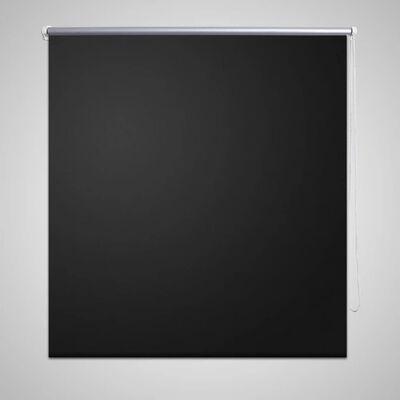 Rullgardin svart 120 x 230 cm mörkläggande