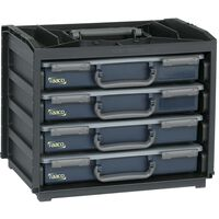 Raaco Sortimentlåda Handy Box med 55x4 lådor 136242