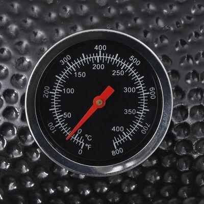 Grillrök Kamado 44cm keramisk