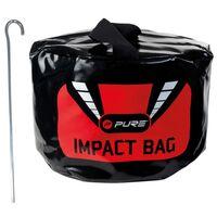 Pure2Improve Slagsäck för golf svart 23x8x25 cm P2I190020