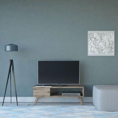 Homemania TV-bänk Maya 90x30x33 cm valnöt