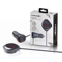 Carq7s Fm-sändare Med Bluetooth-handsfree & Dubbla Usb-portar