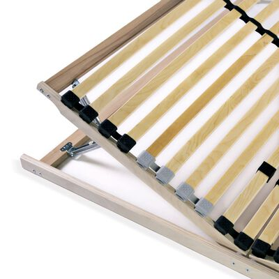 vidaXL Ribbotten med 28 ribbor 7 zoner 140x200 cm