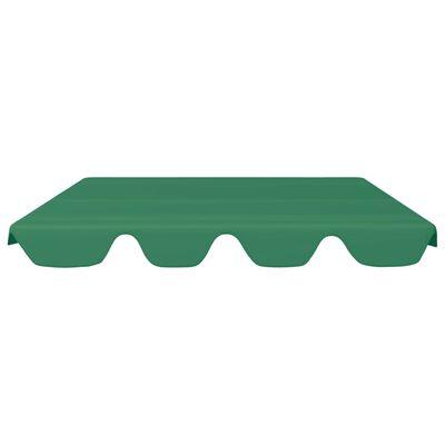 vidaXL Reservtak för hammock grön 150/130x70/105 cm