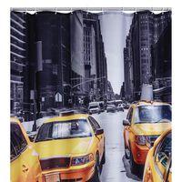 RIDDER Duschdraperi New York 180x200 cm