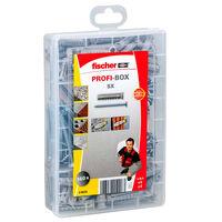 Fischer Skruvar med plugg PROFI-BOX SX 160 st