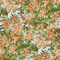 DUTCH WALLCOVERINGS Tapet blommig flerfärgad