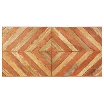 vidaXL Matbord 120x60x76 cm massivt akaciaträ och mangoträ
