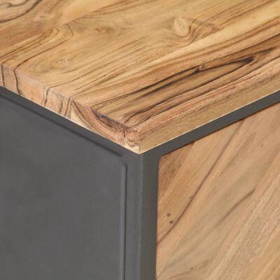 vidaXL Nattduksbord 40x30x50 cm massivt akaciaträ