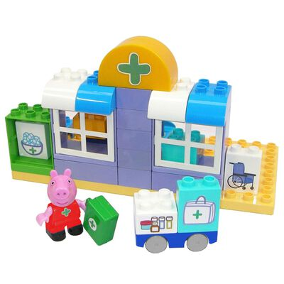 BIG Byggsats Greta Gris Bloxx 32 delar sjukhus