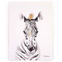 CHILDHOME Oljemålning 30x40cm zebra
