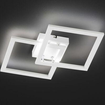 Wofi Taklampa LED Elle 34x7 cm vit