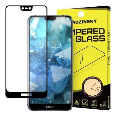 Nokia 7.1 Härdat Glas l CURVED [Full-Cover]