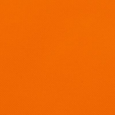 vidaXL Solsegel oxfordtyg rektangulärt 6x7 m orange
