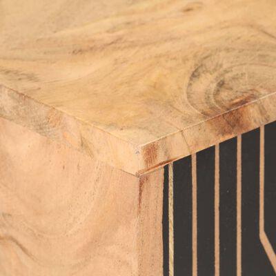 vidaXL Skänk 60x35x75 cm massivt akaciaträ