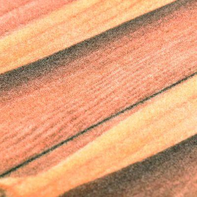vidaXL Köksmatta maskintvättbar skedar 45x150 cm