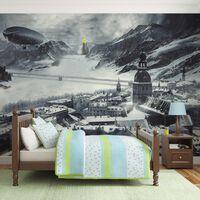 Fototapet - Winter In Russia - 400x309 Cm