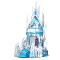 Frozen 2 3D-pussel Ice Palace 47 bitar genomskinlig blå