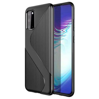 S-Case silikon skal Samsung Galaxy S20 (SM-G980F) Svart