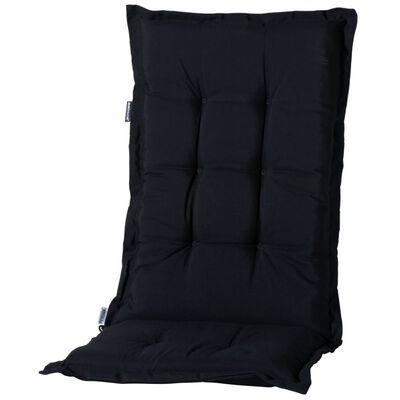 Madison Stolsdyna med hög rygg Panama 123x50 cm svart PHOSB223