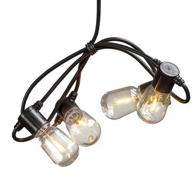 KONSTSMIDE Partylampor med 20 ovala lampor extra varm