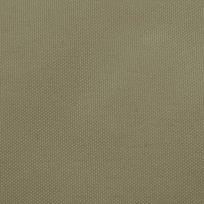vidaXL Solsegel oxfordtyg rektangulärt 2x3 m beige