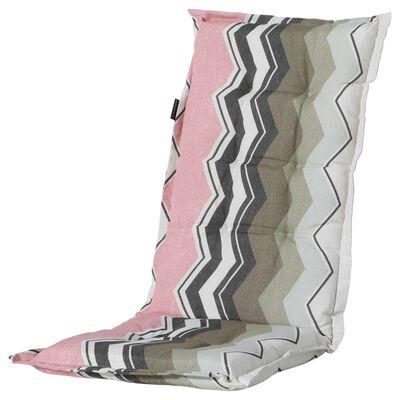 Madison Stolsdyna med hög rygg Chris 123x50 cm rosa