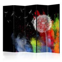 Rumsavdelare - Colourful Element Ii   - 225x172 Cm