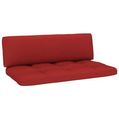 vidaXL Dynor till pallsoffa 2 st röd