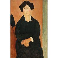 The Italian Woman,Amedeo Modigliani,60x40cm