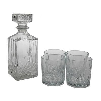 LAV Whisky sætte 6 whisky glas + karaffel af whisky