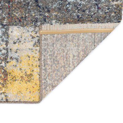 vidaXL Matta flerfärgad 80x150 cm PP,