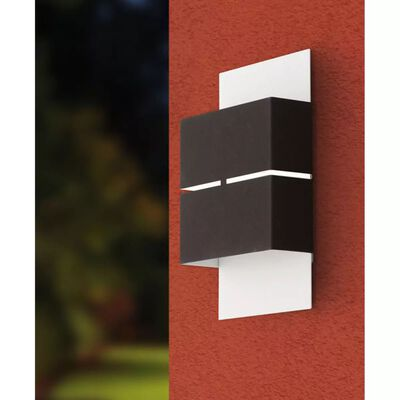 EGLO Utomhusvägglampa LED Kibea 5 W antracit 93254
